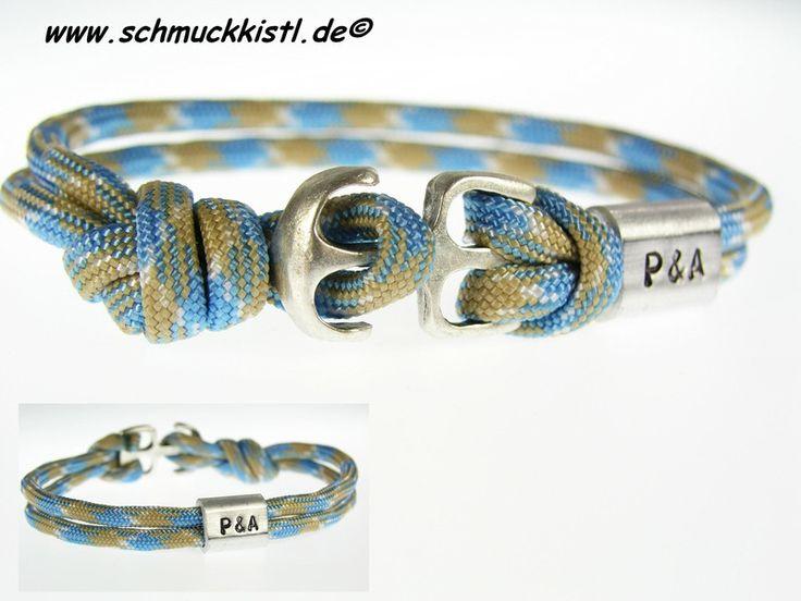 Armband Paracord Geschenk Freund von www.Schmuckkistl.de auf DaWanda