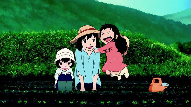 Ame, Hana et Yuki
