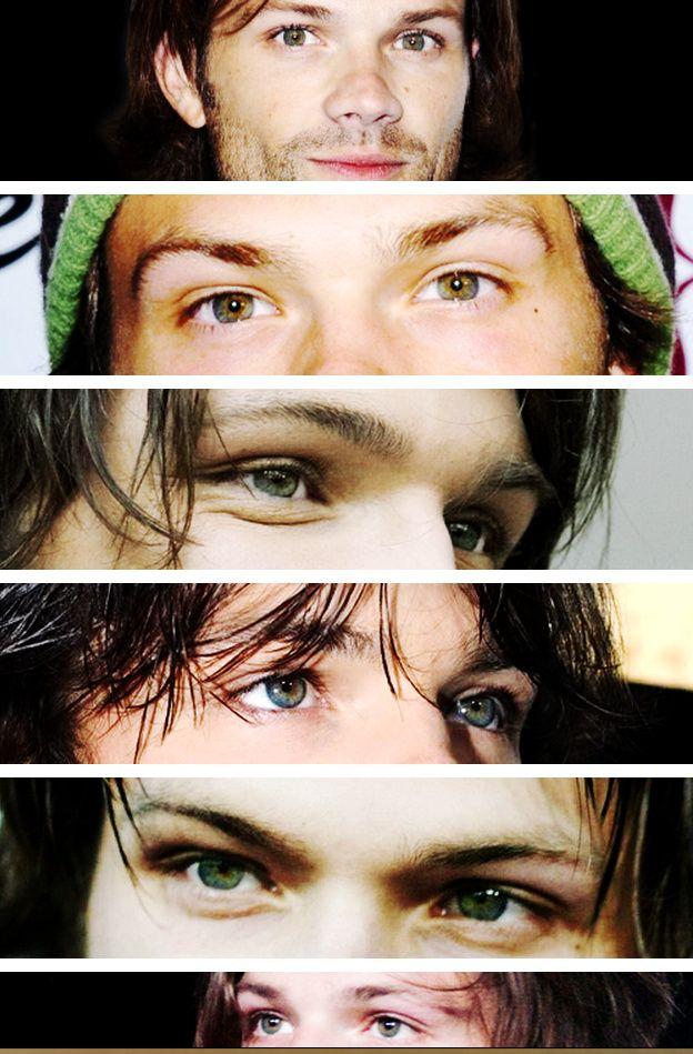 Jared Padalecki's eyes. Click through.