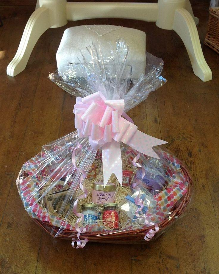 Candle Hamper Basket Gift