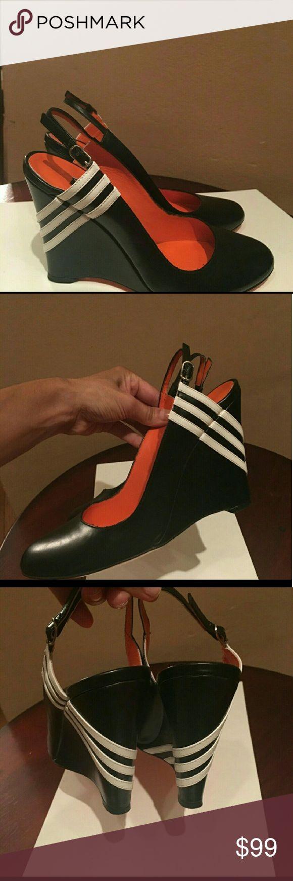 Stunning Yohji Yamamoto  shoes Beautiful Wedge, in excellent condition Yohji Yamamoto Shoes Wedges
