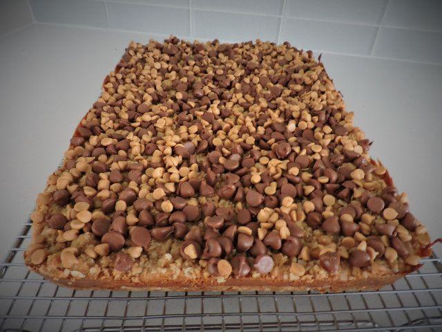 Peanut Butter Fudge Bars - so amazing!