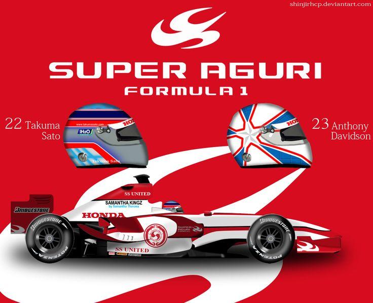Super Aguri SA07 by ShinjiRHCP.deviantart.com on @deviantART