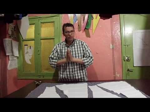 (1)patron jupe a 8 panneaux avec godet - YouTube
