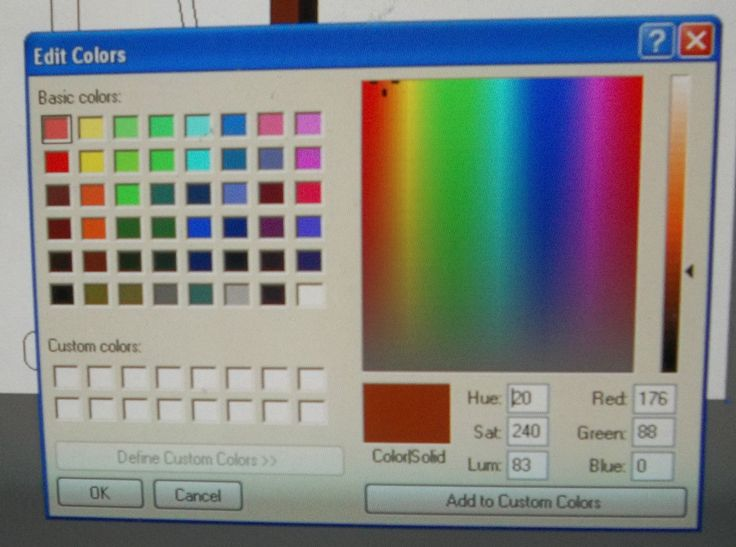 How to make excellent colour pictures with free Paint software program