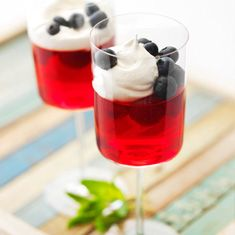 Communion party ideas: wine glasses from Dollar Tree filled with jello