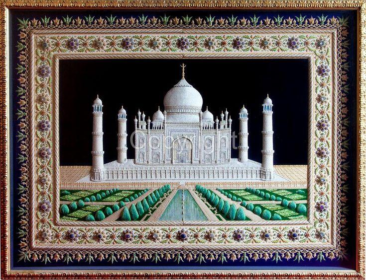 Шейх Шамсуддин - вышивальщик - Керамика, всякая красота и жизнь вокруг