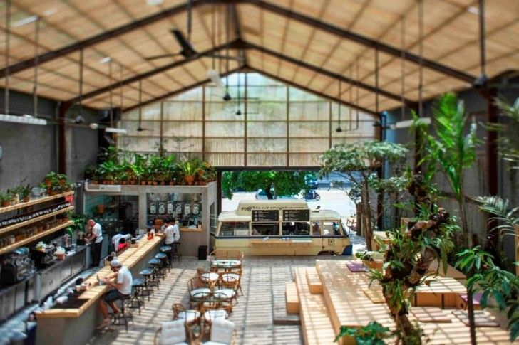 Three Buns Restaurant in Jakarta Offers Lung-Pleasing Greenhou...