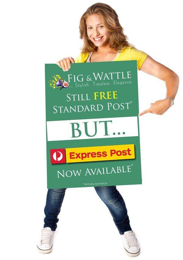 We are so excited here at Fig & Wattle to be able to offer you the option of Express Post delivery for your order. This means of course you'll be able to enjoy our beautiful jewellery even sooner! . . . #figandwattle #australiapost #expresspost #superexcited #whywait #fashion #fashionista #fashionable #fashionstyle #fashioninspo #styleinspiration #inspo #boho #trend #trendy #trends #trending #trendalert #photooftheday #styleoftheday #stylegram #jewellery #jewelryaddict #jewelleryaddict…