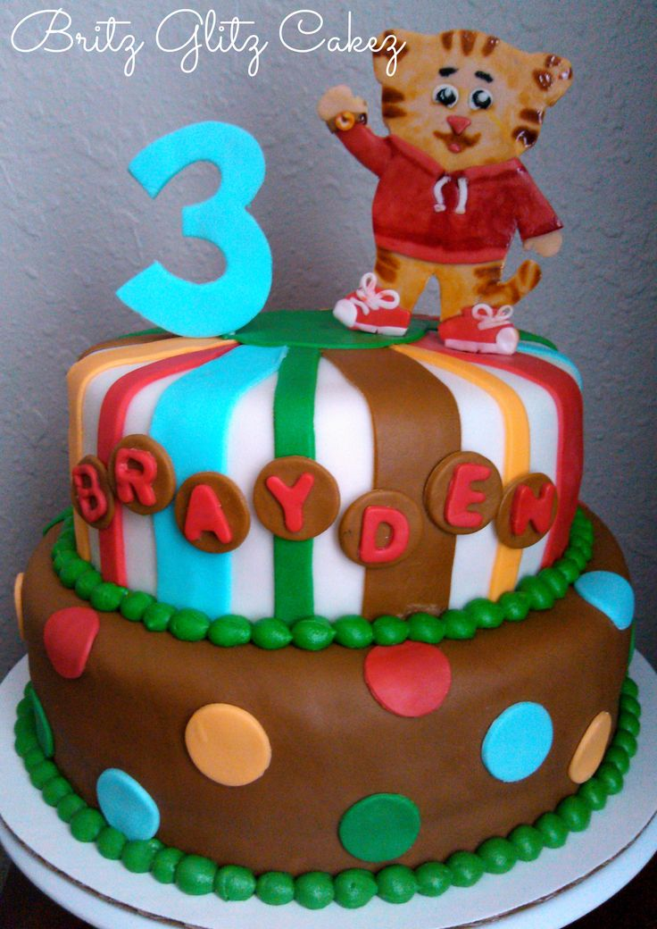 195 Best Daniel Tigers Birthday Party Images On Pinterest