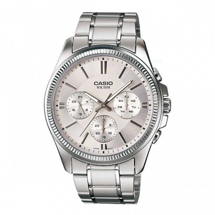 Casio MTP-1375D-7AVDF Analog Watch - Silver (Without Box)