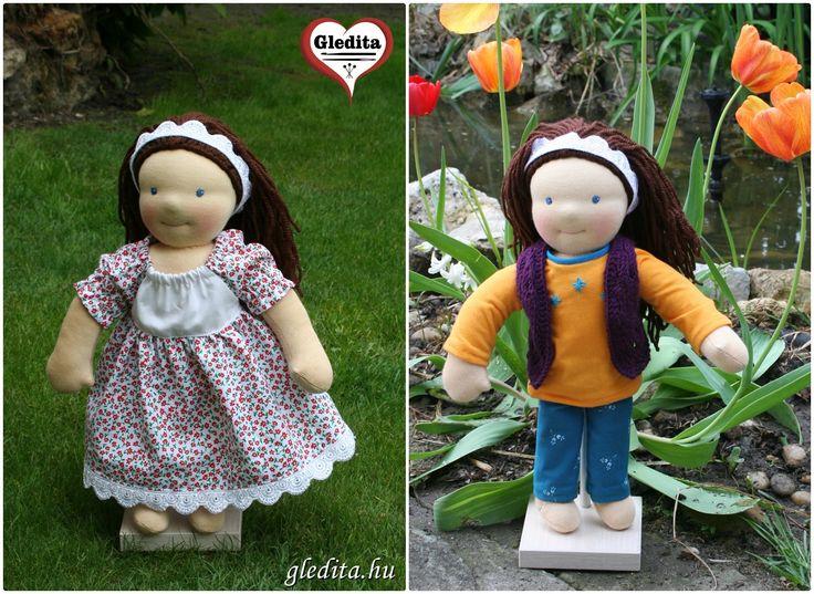 Zoé babája, két ruhával  waldorf inspired doll Waldorf doll by #gleditacreative #waldorfbaba #waldorfdoll #waldorfbabavarras #legjobbjáték #legjobbjatek #csodalatosajandek #handmade