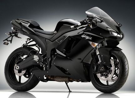 I want a black, green, or dark red crotch rocket.  :-) This is my favorite motorcycle design though, by far.  :D