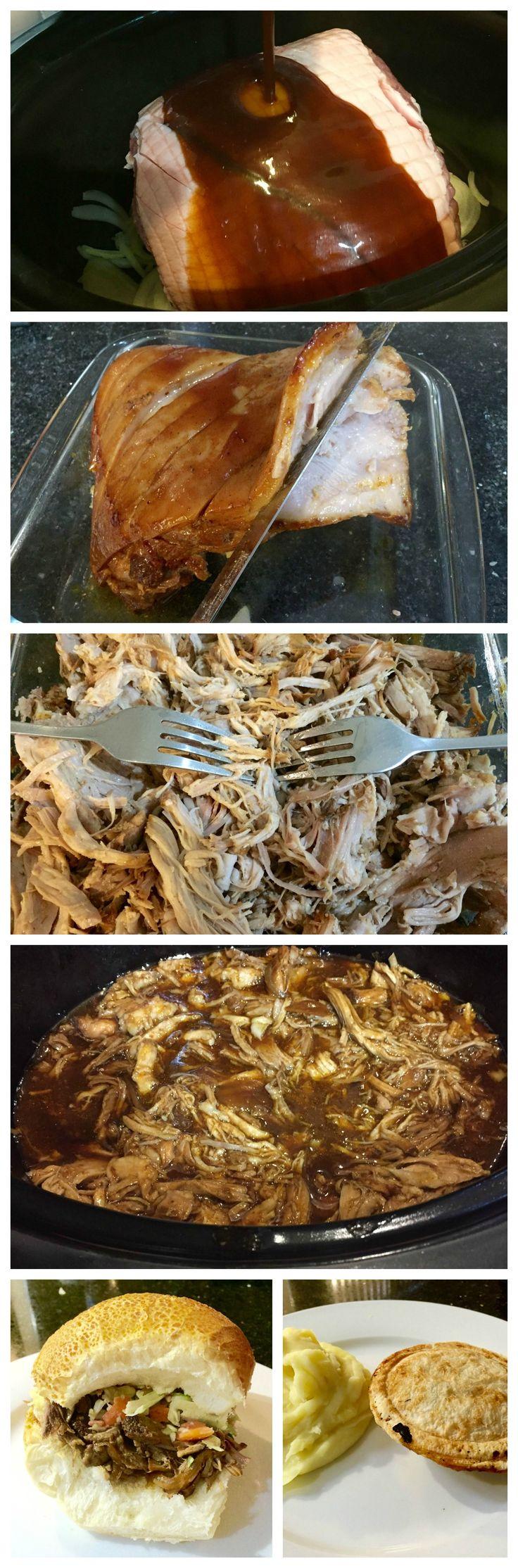Slow Cooker - Sweet pulled pork recipe