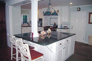 Kitchen Island Support Columns Support Beam And