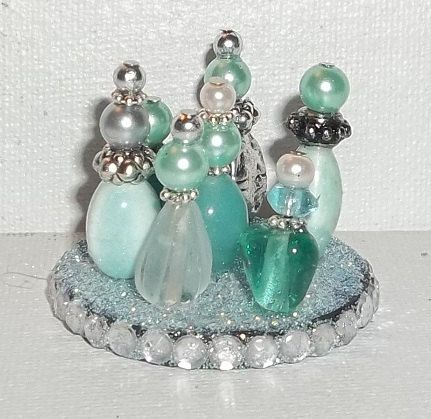 Sea Green Mermaid Miniature Perfume Tray by SpiritualPathways