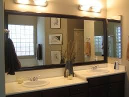 framed bathroom mirror framing mirrors pinterest mirrors  bathroom extensive black framed mirror for bathroom combined two tiers vanity sets cool black framed mirror for bathroom looks homely for everyone