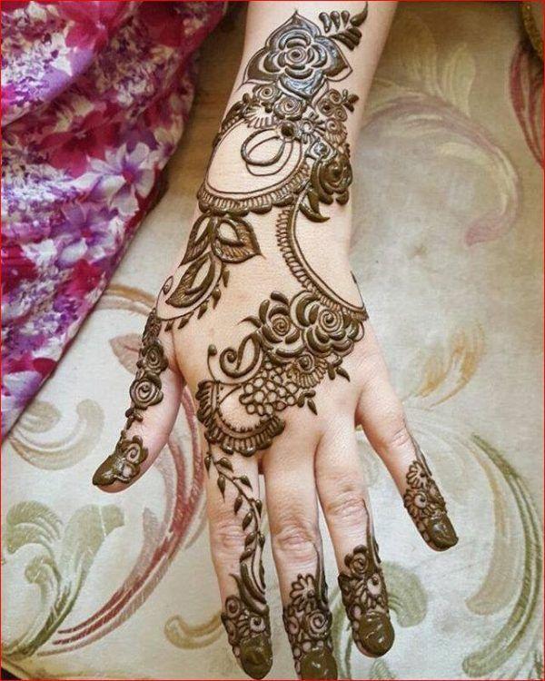 how to put mehndi designs