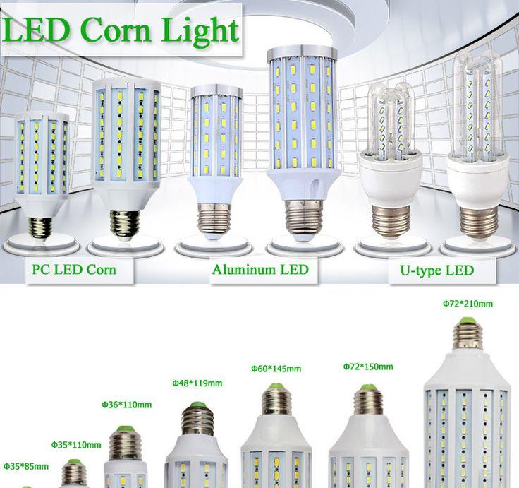Buy China supplier plastic cover CE rohs 15w e27 corn light led lamp LED Residential Lighting on bdtdc.com