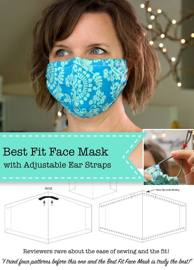 7 Diy Face Mask Patterns To Sew A Lot Of Helpful Info In 2020