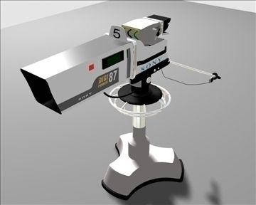 Studio Camera Tv 3D Model-   Studio Camera Tv virtual production - #3D_model #Television