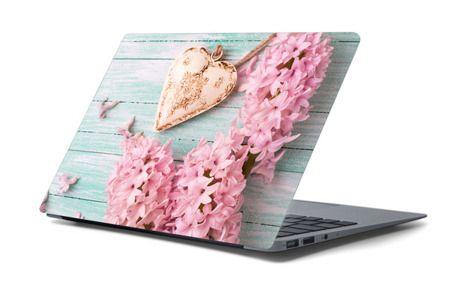 Naklejka na laptopa - Pastelowe serce 4655