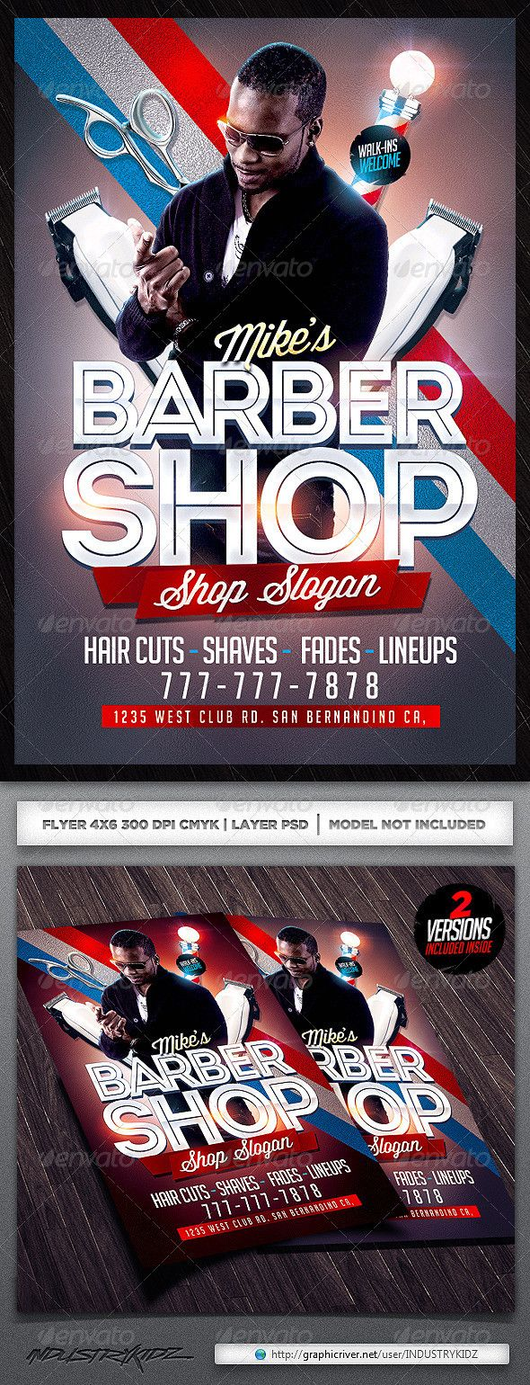 Barber Shop Flyer Free Template Elegant Scissors Graphics Designs Templates From Graphicriver Flyer Barber Shop Flyer Template Free Barber shop flyer free template