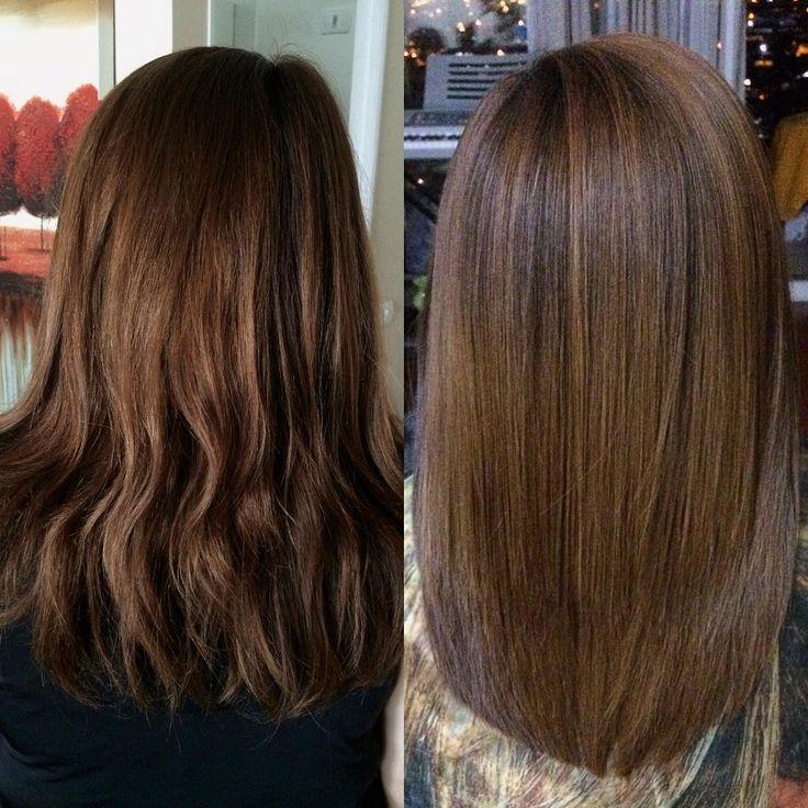 Alisado Keratina #hairstraight #hairstyle #javianabeauty #hairkeratin…