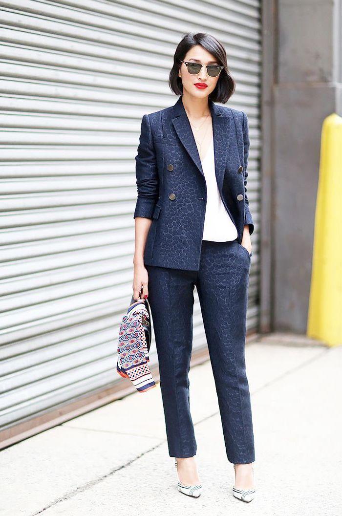 tailleur pantalon femme couleur taupe