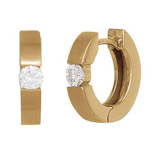 25 parasta ideaa Pinterestissä Ohrringe 585 Gold Creolen