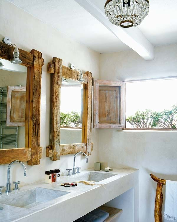 """Great look for the """"boy's bathroom"""""""