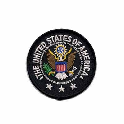 United States of America Patriotic Seal Embroidered Iron or Sew on Patch Applique $4.15