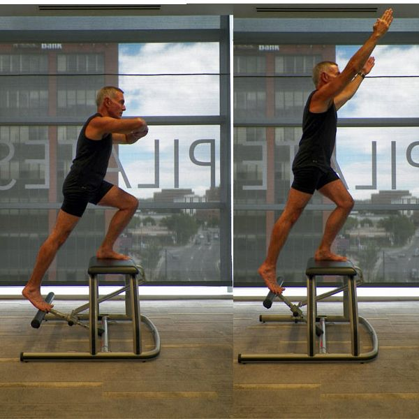 Lower Body Workout Challenge on the Pilates Chair: Going Up - Front