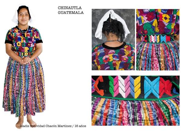 Traje típico de Chinautla, Guatemala