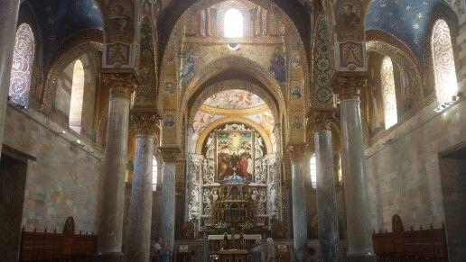 La Martorana  - Santa Maria dell'Ammiraglio #palermo #sicilia