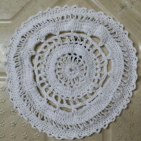 Carpeta en crochet