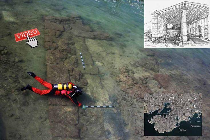 Ancient marine base found in Zea  Marina..! <span class=postdate>22/05/2017</span>