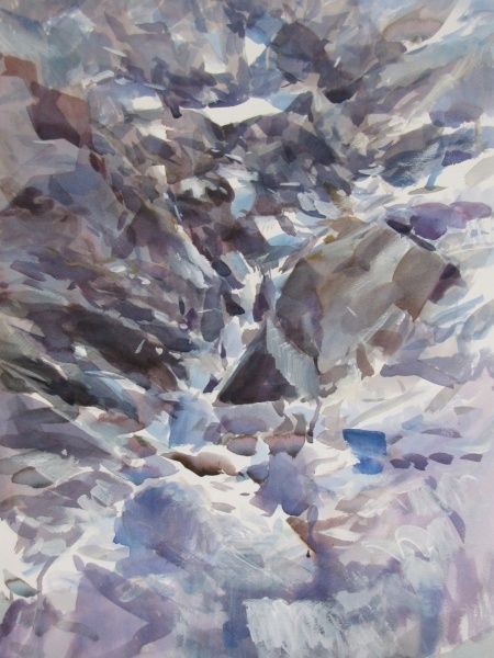 Paper, 2012, watercolours, cm 70x50