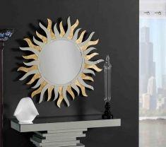 Espejos Decorados en Pan de Oro : Modelo SOLANO