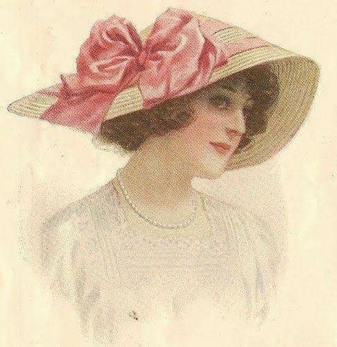 Chapéu de arco   – VINTAGE LADIES – a romantic inspiration