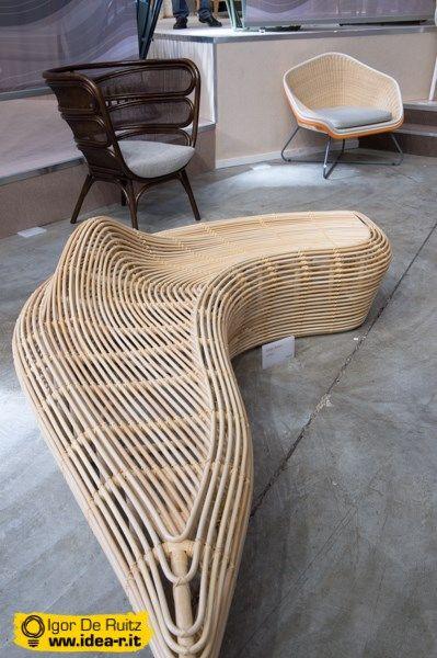 Linger Bench by Alvin Tjitrowirjo (Milano Design Week - Tortona)