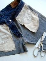 I DIY: How To Make 3 Pairs Of Denim Cut-Off Shorts #refinery29 http://www.refinery29.com/18255#slide-14 And...voilà! Three pairs of cut-offs to live in all summer long.