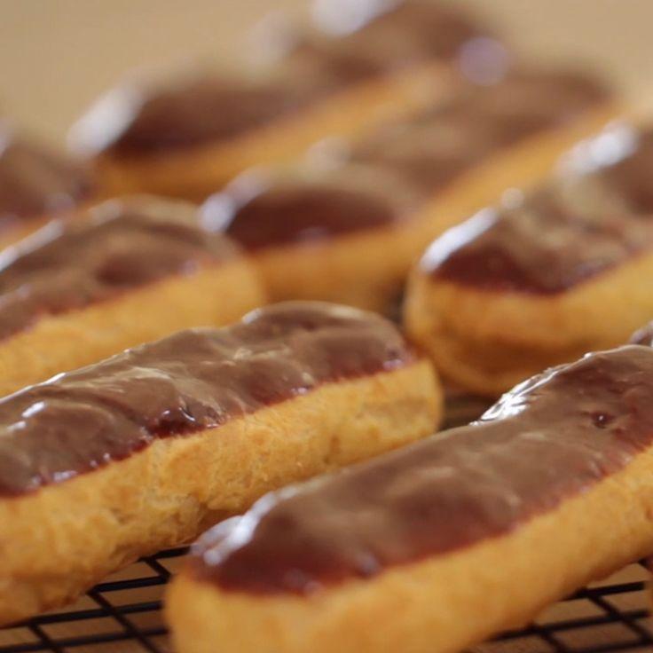How-To Make a Chocolate Eclair