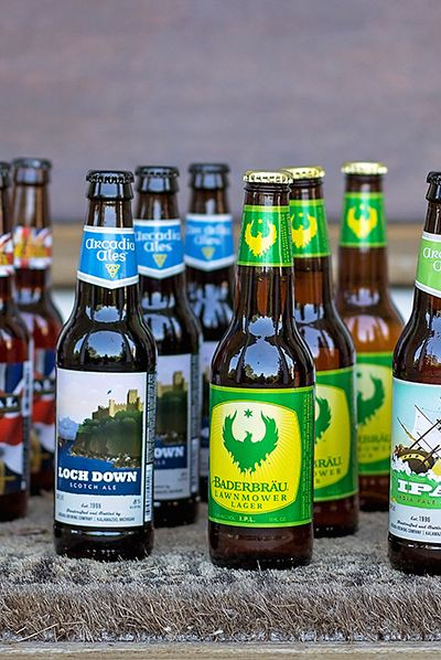 Gift idea for beer aficionados: a subscription to a Beer of the Month club