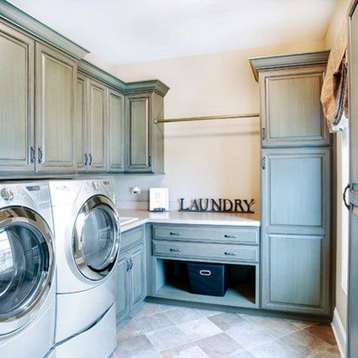 189 best laundry room ideas images on pinterest small - Laundry room cabinet ideas ...