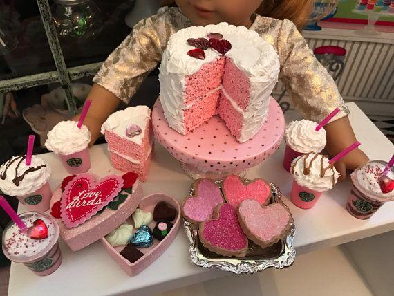 American Girl Valentineu0027s Bakery Bundle By Lilyvictoria On Etsy