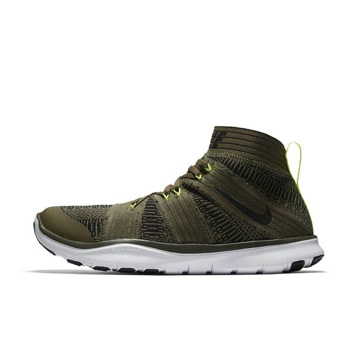 Nike Free Train Virtue Men's Training Shoe Size 11.5 (Olive) https://