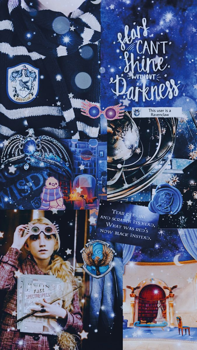 Ravenclaw Hogwarts Collage Background Harry Potter Wallpaper Backgrounds Harry Potter Wallpaper Harry Potter Background