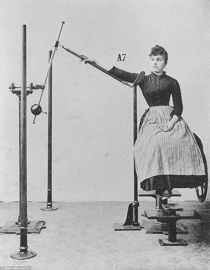 Strange contraptions elaborate bondage
