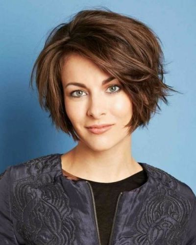 haircuts for fine hair best 25 curly asymmetrical bob ideas on wavy 9506 | de01e8359d9f3fc9506b2cb447d2f527